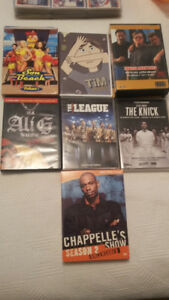 VARIOUS TV SERIES DVD's