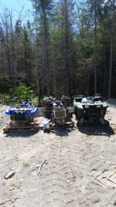 Parting out.300&650 kvf kawasaki/400&450 Kodiak