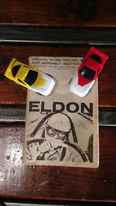 Piste de Course Antique Eldon 1964 et Artin