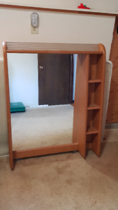 Mirror U0026 Shelf Unit For Top Of Dresser