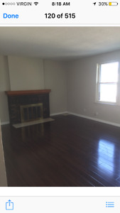 Large, renovated 1bdrm with fireplace! Utitilities included!