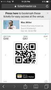 Mac Miller concert tickets for Dec 8th 2016