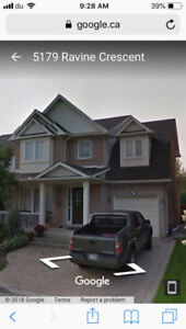 3 bedroom spacious house for rent in Burlington