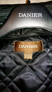 Mens large Danier leather jacket