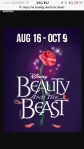 Wanted------Beauty and the Beast tickets