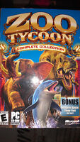 ZOO TYCOON PC GAME FOR 8$