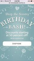 Scentsy Sale! Amazing deals starting at 50% off!