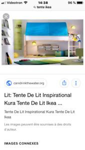 Tente pour lit d'enfant Ikea