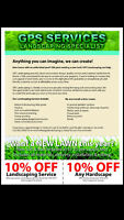 Sod, final grade, excavation, hardscapes, 10% off this month