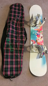 Firefly Board and Morrow Bindings for SALE- Great condition