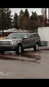 Ford Truck Canopy Topper 5.5 ft Grey