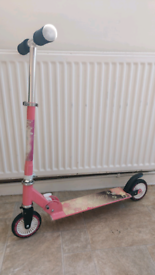 FREE Girl scooter for 4+ yrs