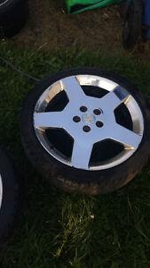 pneu et mag chromé 5x110
