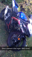 2007 GSXR 750 need gone by Sunday