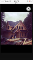 Custom home and timber frame builders NEEDED ASAP