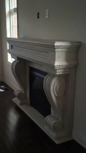 FIREPLACE MANTELS GAS AND ELECTRIC CHECK PICTURES!