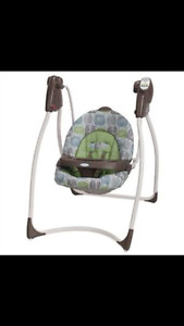 Brand new only used once Graco hug lovin swing $75