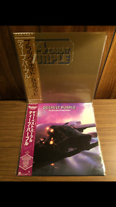 Deep Purple & Alcatrazz Records From Japan