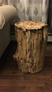 Custom cut/crafted coffee and end tables