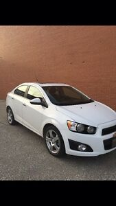 2014 chevy sonic with warranty