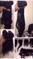 Brazilian Virgin weave wig closure lace front to sell nw