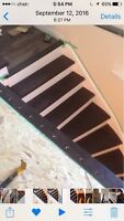 Superior stairs and hardwood installation .