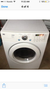 LG front load gas dryer