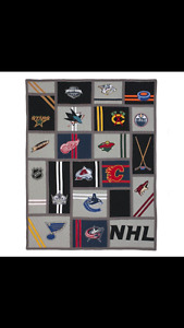Twin NHL Western Pottery Barn Quilt