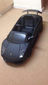 Kids Black Matte Ride on Lamborghini