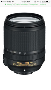 Nikon 18-140mm f3.5-5.6 lens in EXCELLENT Condition