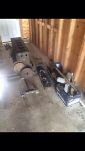 1935 Chevy 235 motor everything there, need gone asap