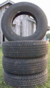 4 275/70/18 Continental summer tires