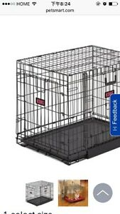 Used L size Kennel - Brand Kong