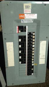 panneau d'électricité