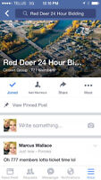 Red deer 24 hour bidding! Get your auction on