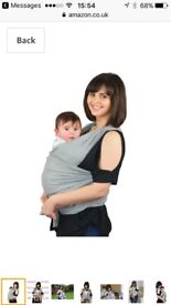 Baby Carrier Sling (grey)