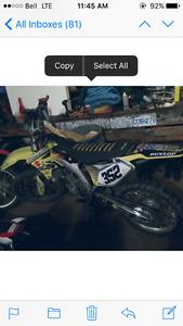 2008 Rmz 250