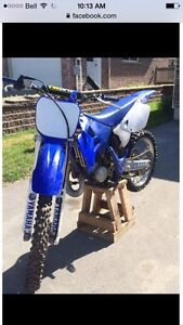 2001 yz 125 with ownership