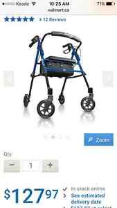 Hugo Fit Rolling Walker with seat