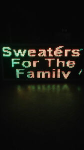 LED Scrolling message board/sign