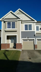 Kanata  Big New 4 Bed End Town house for Rent, Jan 1st