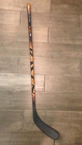 Raven hockey stick