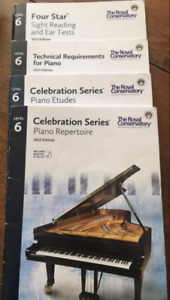 RCM Level 6  Piano Books