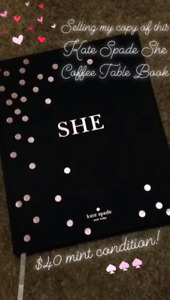 Kate Spade She - Nasty Galaxy Coffee Table Books