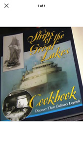 New - Ships of the Great Lakes Cookbook