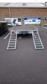 Flatbed Trailer, Single-axis, Braked