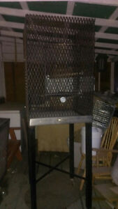 Diamond steel cage and carrier cage