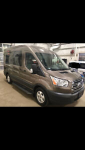 2018 Ford Transit 150 Wagon XLT Medium Roof Fully Loaded RARE