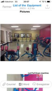 ACT FAST-Gym equipment to donate