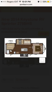 Travel Trailer for Vacation Rental